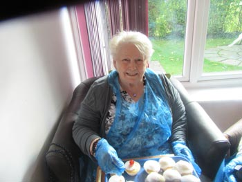 cup cakes at woodford house